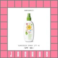 Babyganics SPF 50+ Sunscreen Spray 177 ml