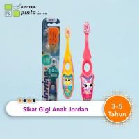 Jordan sikat gigi bayi anak 3 - 5 tahun
