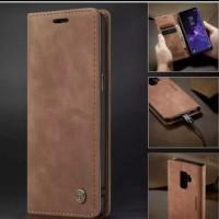 Samsung Galaxy A6 Plus Flip Cover Original CASEME Case Dompet Casing