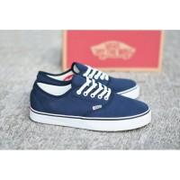 Sepatu Vans California Premium BNIB / Navy Blue / Sneakers Casual