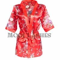 Terlaris Kimono Jpn - Sexy Kimono + Lingerie With G-String Sleep Wear