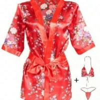 Termurah Sexy Lingerie Japanese Kimono Import Bergaransi