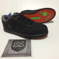 Sepatu Sokolah Sport Anak New Era Anthony Warna Hitam