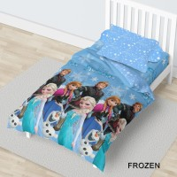 Bed Cover California - FROZEN (NEW) - FLAT - 120x200 (Single)