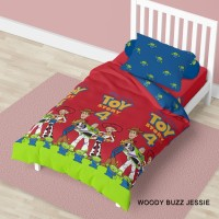 Bed Cover California - WOODY BUZZ JESSIE - Flat - 120x200 (Single)