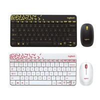 Logitech MK240 Mouse dan Keyboard Wireless Mini combo
