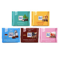 RITTER SPORT CHOCOLATE COLOURFUL VARIETY 100GR