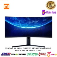 XCP09 Xiaomi Monitor Gaming Curved 34 inch 144Hz 3440 x 1440