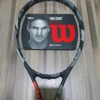 Raket Tenis Wilson Pro Staff 97L 97 L Countervail Bonus Cover