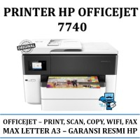 Printer Hp Officejet 7740 - All-in-one - Garansi Resmi