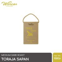 WORCAS Toraja Sapan 100gr Arabica Coffee