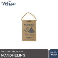 WORCAS Mandheling 100gr Arabica Coffee