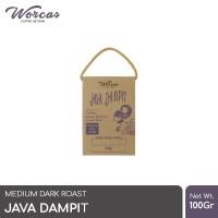 WORCAS Java Dampit 100gr Robusta Coffee