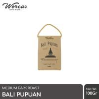 WORCAS Bali Pupuan 100gr Robusta Coffee