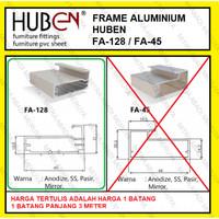 Profil Frame Handle Alumunium Aluminium HUBEN FA 128 FA128 FA-128