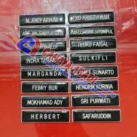 Nama dada atau Name Tag atau Papan Nama PDH PNS Grafir - PENITI
