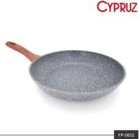 Fry Pan Marble Induksi Cyprus 24cm Wajan Penggorengan Cypruz FP-0632