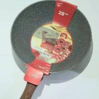 Fry Pan Wok Marble Induksi Cyprus 28cm Wajan Wok Cypruz FP-0644