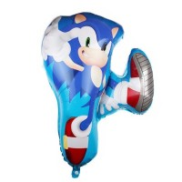 Balon Foil Jumping Sonic The Hedgehog Size 77 cm