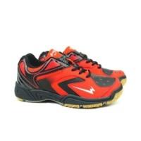 Sepatu Badminton Anak Eagle Artax JR - Fiery/Hitam