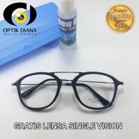 Frame Kacamata Pria/ Wanita Vintage Model Palang Kualitas Bagus