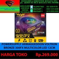POWERSUPLLY ARMAGEDON VOLTRON BRONZE 300FX MULTI COLOR LED 12CM