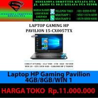Laptop HP Gaming Pavilion 15-cx0057tx - i7-8750HQ/GTX1050 4GB/8GB/Win1