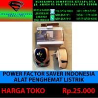 POWER FACTOR SAVER INDONESIA ATAU ALAT PENGHEMAT LISTRIK