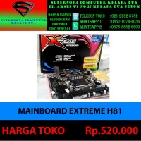 MAINBOARD EXTREME H81