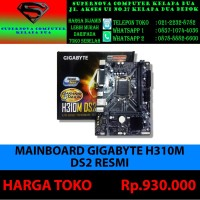 MAINBOARD GIGABYTE H310M DS2 RESMI