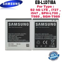 Baterai Batre Original Samsung S2 Korea HD LTE EB-L1D7IBA EB-585157VK