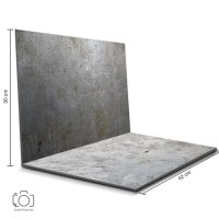 Alas Lipat Steel & Semen Rustic / Background Foto Produk (STL-16)