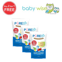 PURE Baby Liquid Cleanser Refill 700ml (BUY 2 GET 1 FREE)