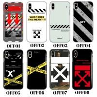 custom hard case off white xiaomi mi5x/mia1,mi6x/mia2 terlaris