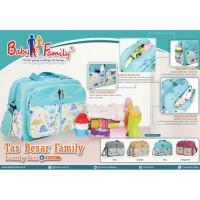 Tas Bayi Baby Scots - diaper bag diapers besar Baby Family 6 BFT6301