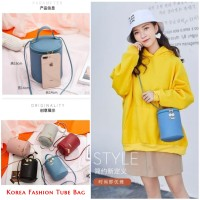 Korean Fashion Tube Bag / Tas Slempang korea kekinian Model Tabung