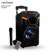 Speaker Bluetooth Advance K881 Speaker PA Hi Fi Portable