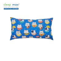 Sleep Max Body Pillow/Bantal Cinta Sudah Dengan Isi Dakron - Cat Blue