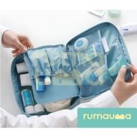 RUMAUMA Pouch Travel Murah Motif Anti Air Tas Kosmetik Make Up Storage