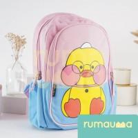 RUMAUMA Bebek Duck Tas Ransel Anak Sekolah Travel Limited Edition Unik