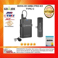 BOYA BY-WM4 PRO-K5 Digital Wireless Omni Lavalier Microphone TYPE C