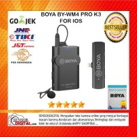BOYA BY-WM4 PRO-K3 Digital Wireless Omni Lavalier Microphone IOS