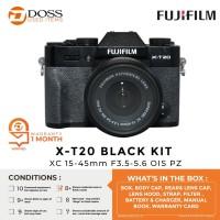 FUJIFILM X-T20 BLACK KIT XC 15-45mm F3.5-5.6 OIS PZ - SCORE 8+