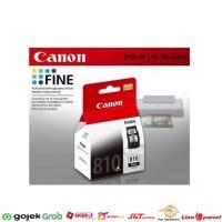 TINTA Cartridge Canon 810 Black ORIGINAL PG810 Hitam BK Ori Catridge