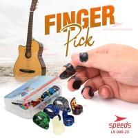 Pick Gitar Alat Musik Pick Finger Celluloid Gitar Akustik 049-25