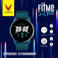 VYATTA Fitme XP Smartwatch - Custom Watch Face, Full Touch, IPX7 - Emerald Blue
