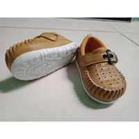 Sepatu Anak Bayi Perempuan 9 - 1 2 Bulan - Coklat