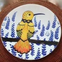 Piring Hias Burung | Salad Plate|Ekspor Murah