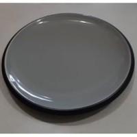 Piring Saji Grey Cekung D.27.5cm | Ekspor Murah