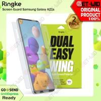 Screen Guard Samsung Galaxy A21s Ringke Dual Easy Wing Anti Gores